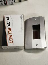 New Hubbell Stainless-Under Cabinet Distribution Box 1-Gang Slim Fit-RU100SS