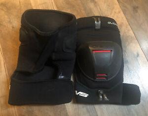 EVS Glider MX Offroad Knee Pads/Guards Black M