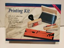 "Rogers Pro Stamp Printing Kit (#2, 1/8"" rubber type)"