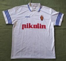 REAL ZARAGOZA SPAIN 1995/1997 HOME FOOTBALL SHIRT CAMISETA ADIDAS VINTAGE