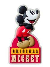 Walt Disney Retro Original Mickey Mouse Soft Touch PVC Refrigerator Magnet, NEW