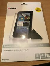 Trust Screen Guard Protector 2-pack Anti-Scratch For Samsung Galaxy Tab 2 7.0
