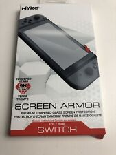 Nyko Screen Armor Premium Tempered Glass Screen Protection Nintendo Switch New