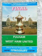 1975 FA Cup FINAL FULHAM v WEST HAM UNITED, 3rd May