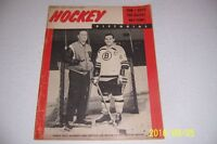 1964 HOCKEY Pictorial BOSTON BRUINS Leo BOIVIN Milt SCHMIDT Gordie HOWE Rocket