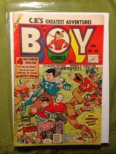 BOY COMICS #107 VG 1955-CHARLES BIRO-ROCKY X vs COMMIES