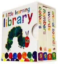 The Very Hungry Caterpillar Little Learning Library Collection Set