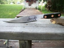CUSTOM MADE CONVENTIONAL AMERICAN MOUNTAINMAN STYLE THROWING BOWIE KNIFE