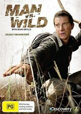Man vs Wild: Season 5 Collection 1 - Deadly Encounters (DVD, R4) New/Sealed!