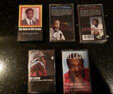 5 Cassette Tape Lot Bill Cosby - Best of Bill Cosby Best of Comedy Funny