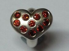 Endless Jewelry Charm Garnet Heart of Love 41450-3 rrp £75