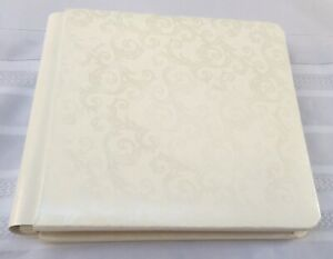 Creative Memories Promise Wedding Scrapbook Album White 12 Sheets/24 Pages *NEW
