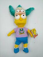 Bart Simpson Krusty Fan The Simpsons Plush Stuffed Toy NWT 2009 Nanco Toys