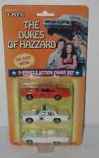 1997 ERTL The Dukes of Hazard 3-Vehicle Action Chase Set Die Cast Metal. 7068