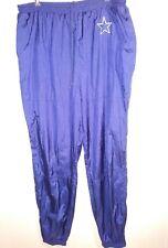 7959cfcf6a0 Vintage NFL Dallas Cowboys 2XLT Blue Lined Swishy Pants