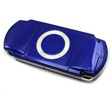 New Full Housing Case Cover Faceplate Front + Buttons For PSP 1000 1001 Blue