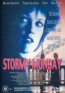 Stormy Monday DVD Melanie Griffith Tommy Lee Jones 1988 Region 4