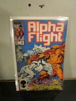 Alpha Flight #23 1985 John Byrne Marvel bagged boarded