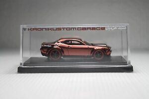Hot Wheels Dodge Demon SRT CUSTOM Red Spectraflame
