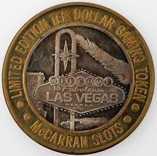 Token SILVER coin 10 Dollar  Las Vegas mcCarran slots