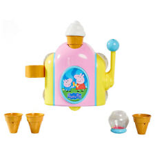 Tomy Peppa Pig Bubble Ice Cream Maker Baby/kids Bath Time Water Fun Toy 18m