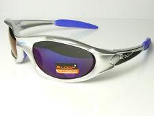 Xloop Mens Boys Womens Designer Sports Wrap Silver/Purple Tint Sunglasses New 01