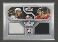 (67575) 2009-10 ITG HEROES and PROSPECTS COMBOS JERSEY EVANDER KANE  A. ESPOSITO