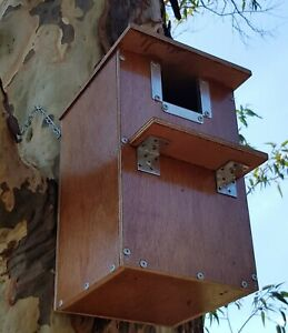 Premium large parrot nesting box. Fully assembled from weather-proof hardwood.