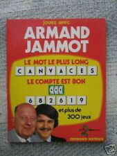LIVRE DES CHIFFRES ET DES LETTRES ARMAND JAMMOT