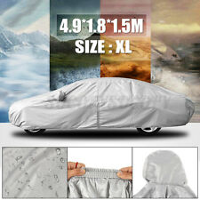 Waterproof Car Cover Sun Dust Protection Universal Anti UV Lightweight Size XL