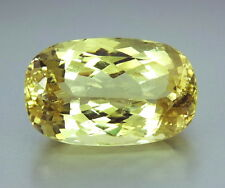 Top Giant triphan: 67,58 CT natural verde amarillo hiddenit (Yellow Kunzite)