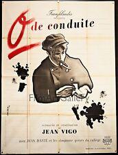 O DE CONDUITE/ZERO FOR CONDUCT original French poster Jean Vigo Filmartgallery
