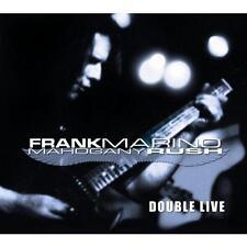 Double Live Frank Marino & Mahogany Rush CD - Neu!