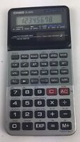 Super FX  fx-300h Casio Vintage Solar Scientific Calculator Works