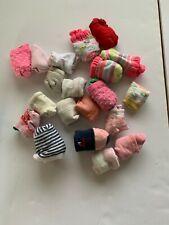 baby girl - 20 pairs - newborn to 1yo.