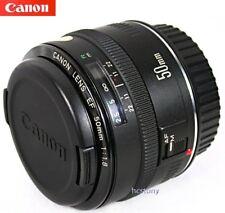CANON EOS EF 50mm 1:1.8 PRIME Lens RARE METAL Mount AF Mark 1~Mk I X-Sharp MINT