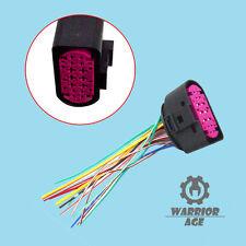 Qty1 Xenon headlight 14pin Plug Connector For AUDI Q5 Q7 TT A4 S4 A5 A6 A8 TTRS