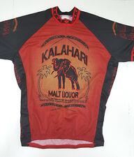 World Men's Kalahari Malt Liquor Cycling Jersey Extra Large