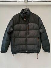 Berghaus Mens Down Jacket Size Large L Coat Black Men's Feather Winter Top