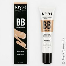 """1 NYX BB Cream """"BBCR03 - Golden"""" Oil Free & Mineral infused *Joy's cosmetics*"""