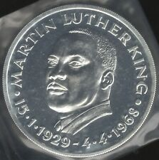 More details for 1929-1968 u.s.a. martin luther king silver medal | pennies2pounds
