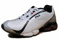 Men's Fila® Vision II Wht/Blk/Red 136 Crosstraining  Athletic Shoes $60 Size