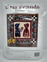 """Best Friends Wallhanging Quilt Kit by Rachel's of Greenfield Fabrics 22"""" X22"""""""
