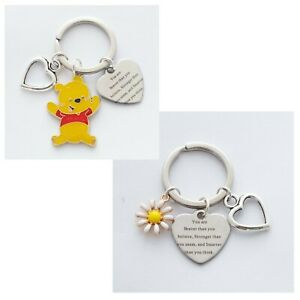 """""""You are Braver... Stronger... Smarter than you think"""" AA Milne quote - Keepsake"""