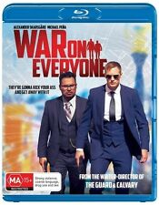 War On Everyone (Blu-ray, 2017) NEW