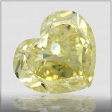 Anillos de joyería con diamantes de compromiso, corazón, VS2