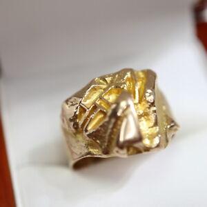 exclusiver Lapponia Designerring in 585 Gold, Gr. 19,5, Gewicht 8,1 g