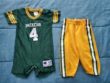 Vintage Champion Green Bay Packers Brett Favre Infant 18 Months Jersey Bodysuit