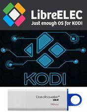 LibreELEC Kodi 64 Bt 8.2.4 16 Gb 3.0 Usb Drive Linux Bootable PERSISTENT Install
