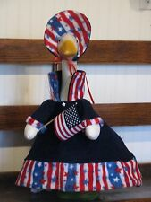 Goose Clothes: Wintertime Patriot Goose Outfit By Silly Goose